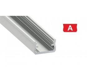 Profil aluminiowy anodowany 2m  typ A srebrny