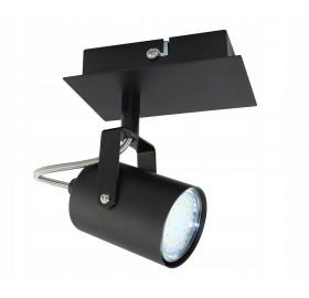Oprawa natynkowa ruchoma spot do GU10 LED czarna