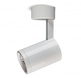 Oprawa natynkowa halogenowa ruchoma spot do GU10 LED biała