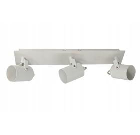 Oprawa natynkowa potrójna halogenowa GU10 LED kinkiet spot biała