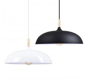 Lampa wisząca Scandi E27 SuperLED czarna
