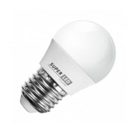 Żarówka LED E27 7W kulka biała ciepła