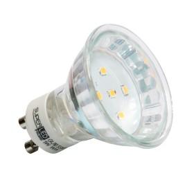 Żarówka LED GU10 1W niebieska