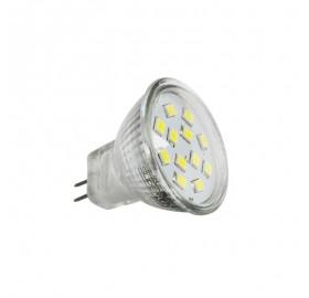 Żarówka LED MR11 SMD 2835 2,4W 12V biała ciepła