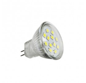 Żarówka LED MR11 SMD 2835 2,4W 12V neutralna