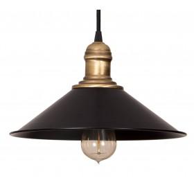 Lampa wisząca sufitowa Edison Loft E27 Retro czarna