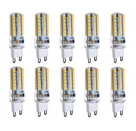Zestaw 10x Żarówka LED G9 360lm 4W=40W 220V ciepła
