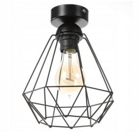 Lampa wisząca plafon Diament Slim Loft E27 LED
