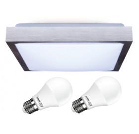 Oprawa Plafon + 2x LED E27 = 20W