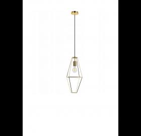 Lampa wisząca Diament Rede SuperLED brązowa