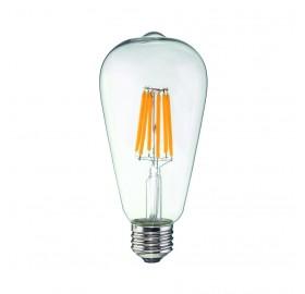 Żarówka LED E27 Filament 6W Edison łezka