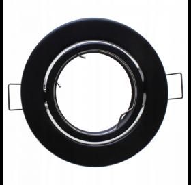 Oprawa wpuszczana GU10 okrągła ruchoma czarna
