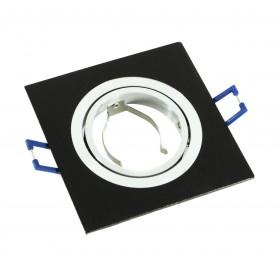 Oprawa aluminiowa ruchoma kwadrat czarna