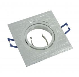 Oprawa aluminiowa ruchoma kwadrat srebrna