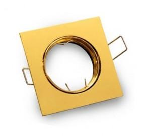 Oprawa stała kwadratowa złota