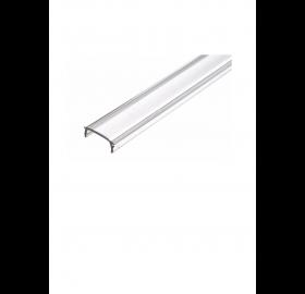 Klosz do proflu LED wcisk 1m przezroczysty