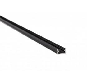 Profil aluminiowy anodowany 2m typ A czarny