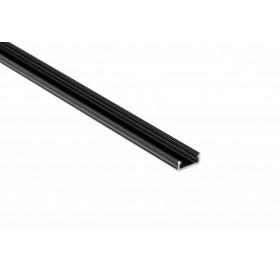 Profil aluminiowy anodowany 2m  typ D czarny