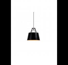 Lampa sufitowa wisząca Scandi Nordic Loft Doodie czarna