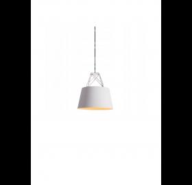 Lampa sufitowa wisząca Scandi Nordic Loft Doodie biała