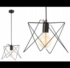 Lampa sufitowa wisząca Druciana Loft E27 LED