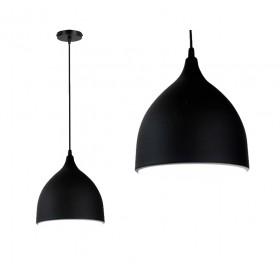 Lampa wisząca Manesa czarna