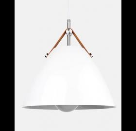Lampa wisząca Perona biała SuperLED