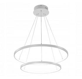 Lampa wisząca Ring żyrandol LED 63W biały
