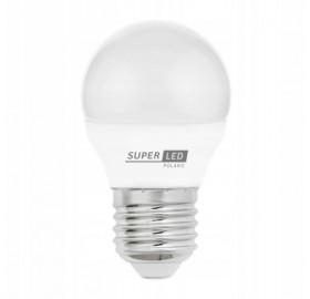 Żarówka LED E27 4W 360lm kulka biała neutralna