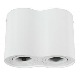 Oprawa natynkowa ruchoma GU10 VALSE DOBBEL biała