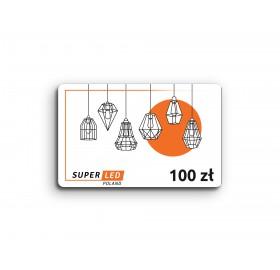 Karta podarunkowa SuperLED 100 zł