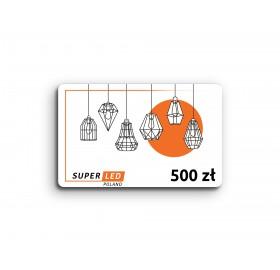 Karta podarunkowa SuperLED 500 zł
