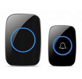 Dzwonek SMUVE bezprzewodowy, czarny + Baterie