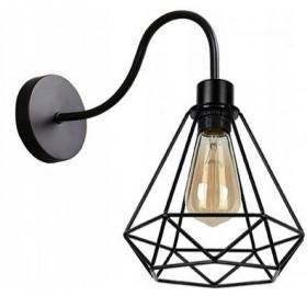 Kinkiet lampa ścienna Drut Loft Retro E27