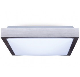 Oprawa Plafon 2x E27 LED srebrna SUPRA