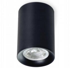 Oprawa Natynkowa MANGO czarna + GU10 LED Spot