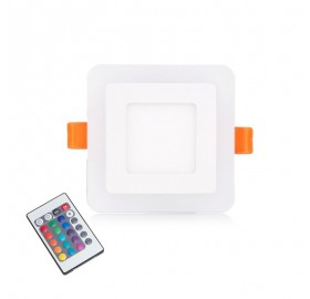 PANEL LED RGB Kwadrat 3W Barwa ciepła