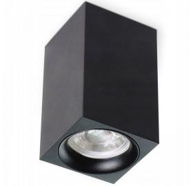 Oprawa Natynkowa MANGO czarna  + GU10 LED