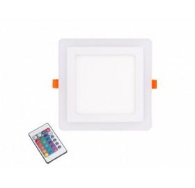 PANEL LED RGB Kwadrat 12W Barwa neutralna