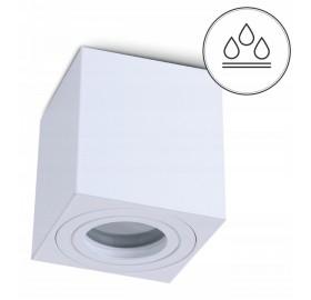 Oprawa natynkowa GU10 LED AQUARIUS spot biała