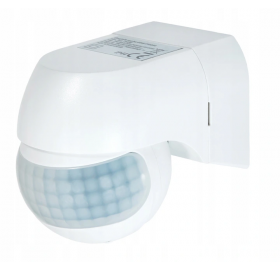 Czujnik ruchu LED PIR podczerwień IP44 800W