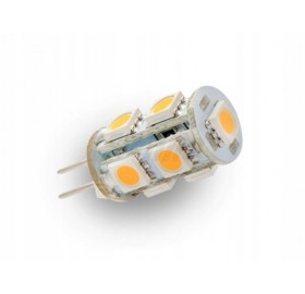 Żarówka LED G4 12V DC CORN biała zimna