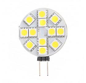 Żarówka LED G4 12V DC TALERZYK 1,5W biała zimna