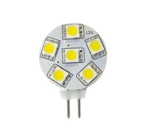 Żarówka LED G4 12V DC TALERZYK 1,2W biała zimna