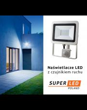 Naświetlacze LED z czujnikiem ruchu