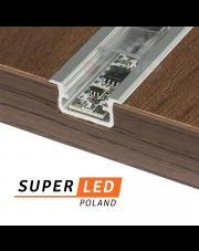 Instalacja taśmy LED w profilu aluminiowym
