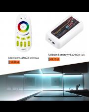 Kontroler z odbiornikiem LED - Oświetlenie strefowe w Twoim domu