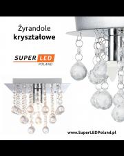 Żyrandole kryształowe z Serii SuperLED