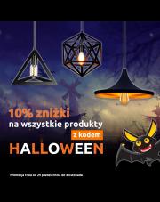 10% zniżki na wszystkie produkty w dniach 29 października do 4 listopada!