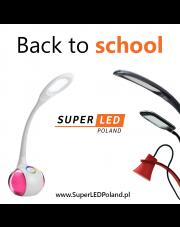 Wielki powrót do szkoły z serią SuperLED! Oświetleniowy #backtoschool